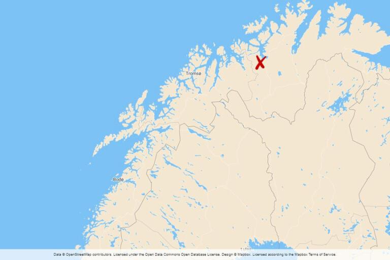 Ett kraftigt jordskred har ägt rum vid Kråkeneset i Alta i Norge.