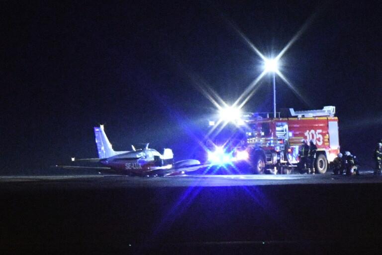 Flygdrama vid Malmö Airport