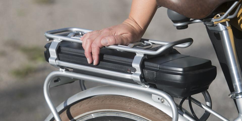 En 27-årig man stal en elcykel när han tog ut den för en testkörning. Han åkte dock fast när han återvände till samma butik i Växjö för att köpa en batteriladdare till cykeln. Arkivbild.