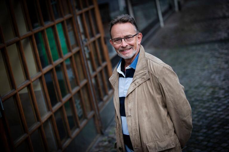 Trelleborgaren Ulf Arnshed bodde en period i Berlin i slutet av 1980-talet, och fick vara med om murens fall.