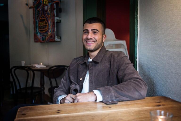 Edvin Hakimzadeh, 19 år, lyckades inte ta sig vidare i årets kvalfinal.