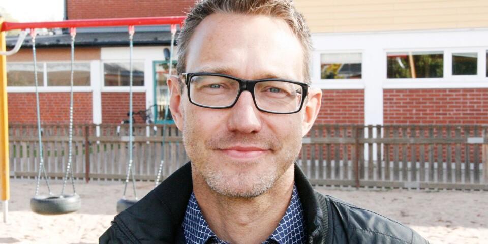 David Idermark är verksamhetsområdeschef för barn- och utbildningsfrågor i Mörbylånga kommun.