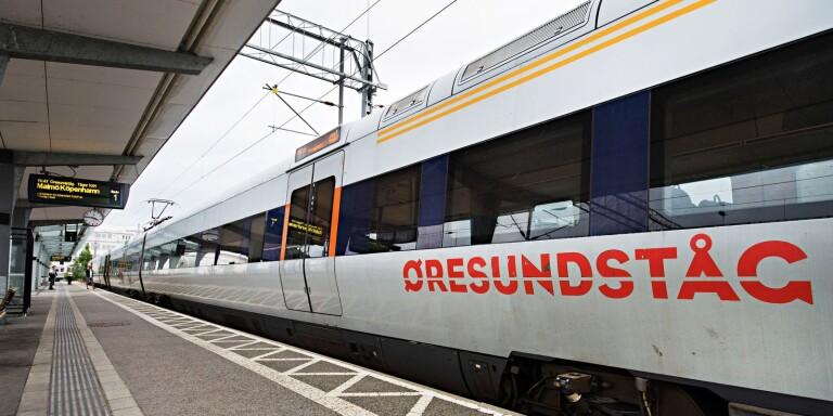 """""""Uppenbarligen inga begränsningar på Öresundståg"""""""