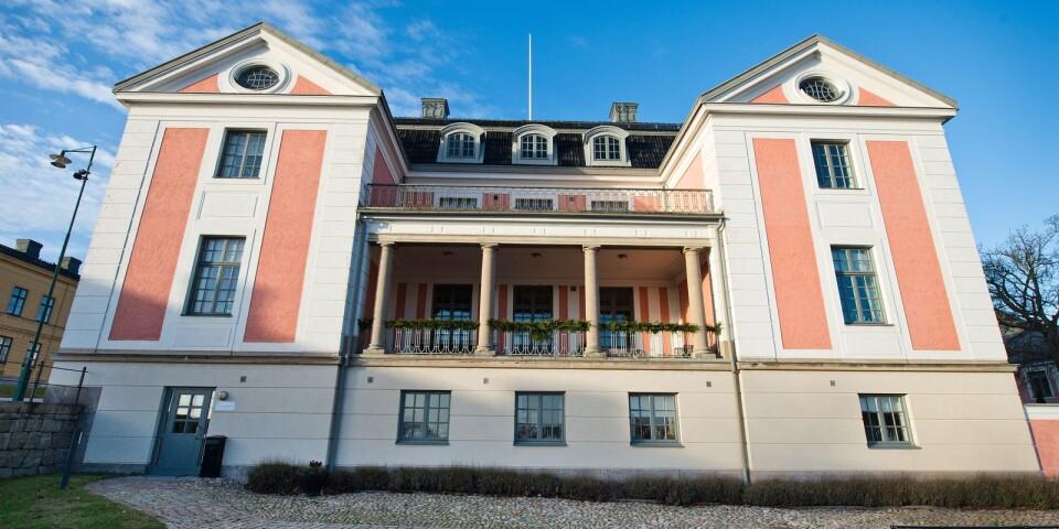 Residenset i Karlskrona.
