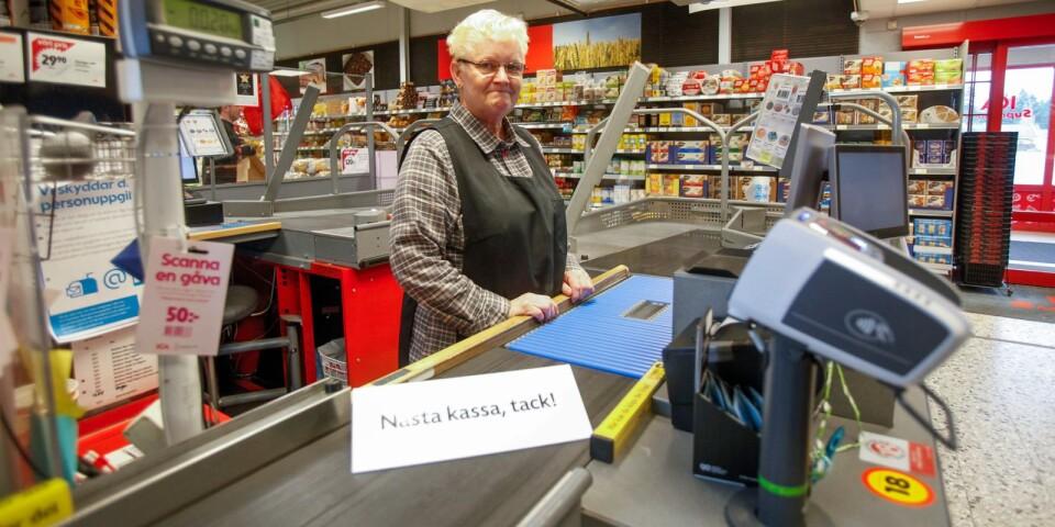 Efter 50 år är Lisbeth Mårtensson synonym med Götes Allköp i Brösarp. Men nu är det dags att gå i pension.