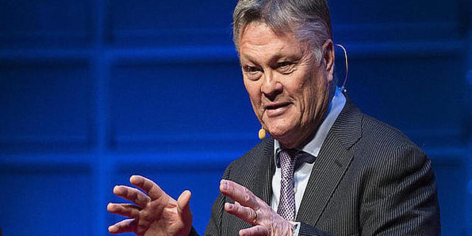 Företagsledaren Dan Olofsson skänker miljoner för att öka säkerheten för Malmös judiska församling. Arkivbild.