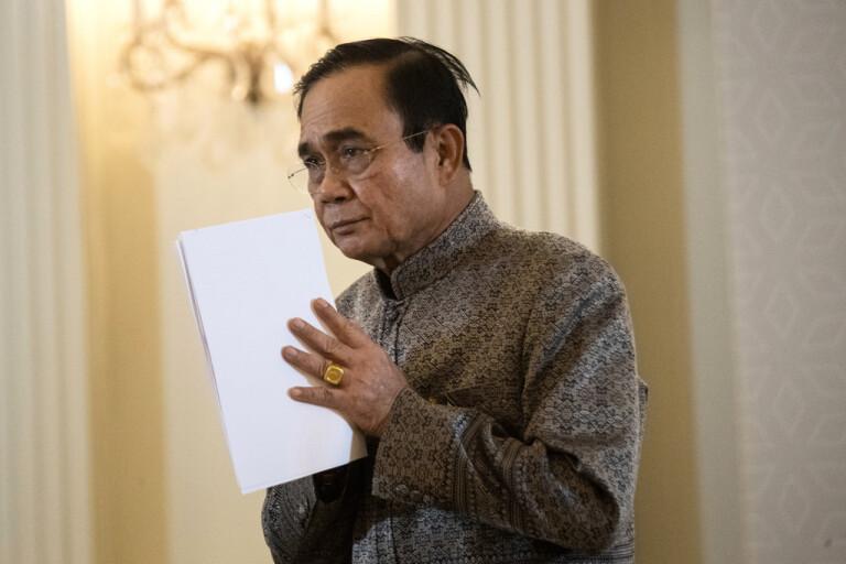 Thailedare samlar parlamentet till krismöte
