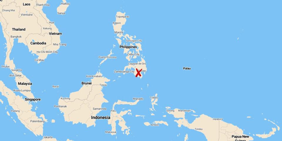Ett skalv med magnituden 6,8 har drabbat södra Filippinerna.