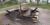 Under natten till lördagen eldades picknickbord på Tallholmens badplats i Nättraby upp.