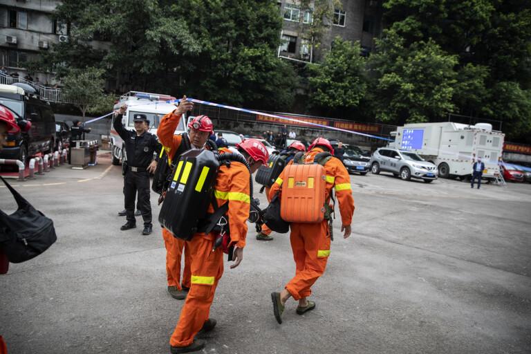 Många döda i gruvolycka i Kina