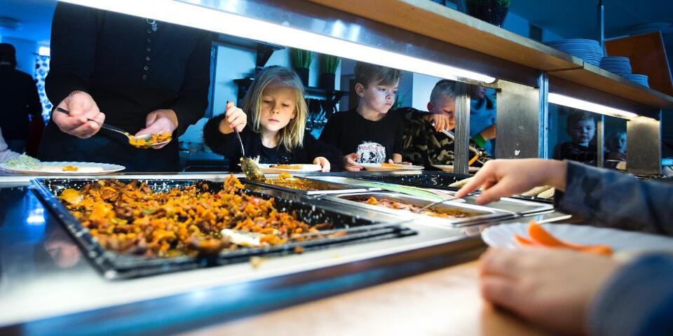 Mest utländskt finns det risk för att det blir på Ystads skolor.