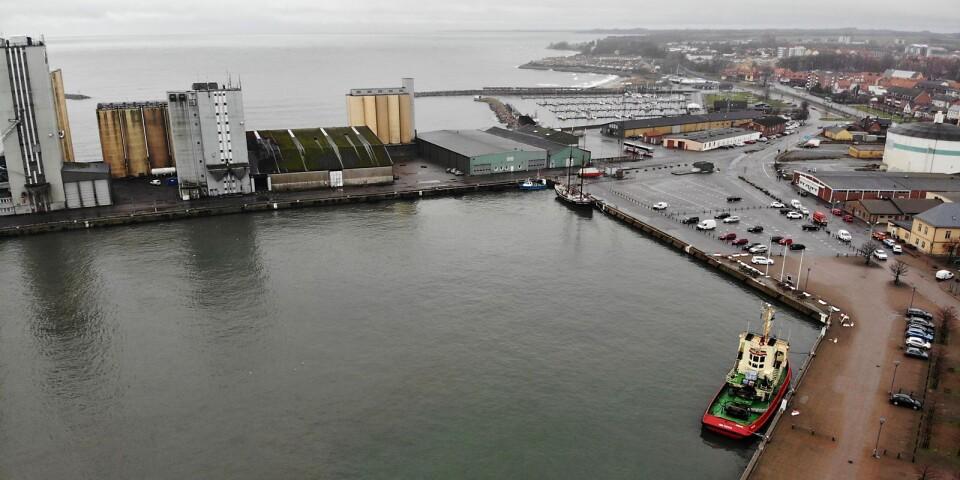 Hamnplan i Ystad, Ystads hamn..