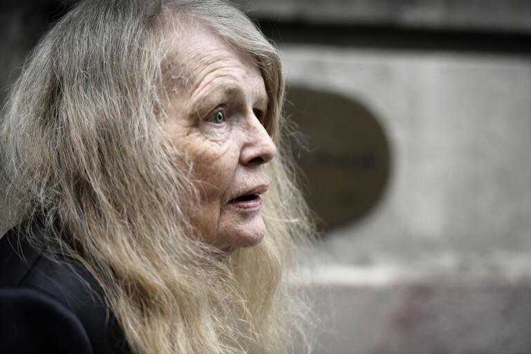 Kristina Lugn gick bort i början av maj. Arkivbild.