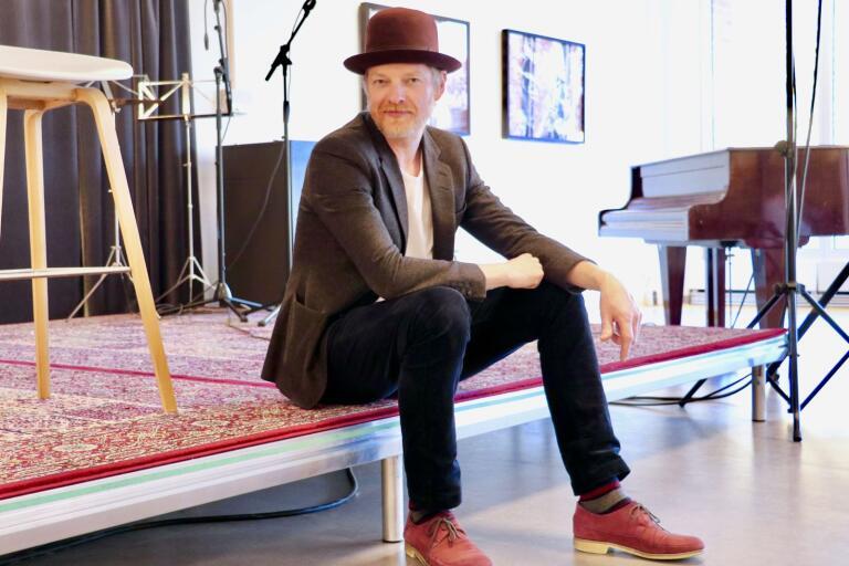 Morten Okbo berättar att Skavlan är en av inspirationskällorna.