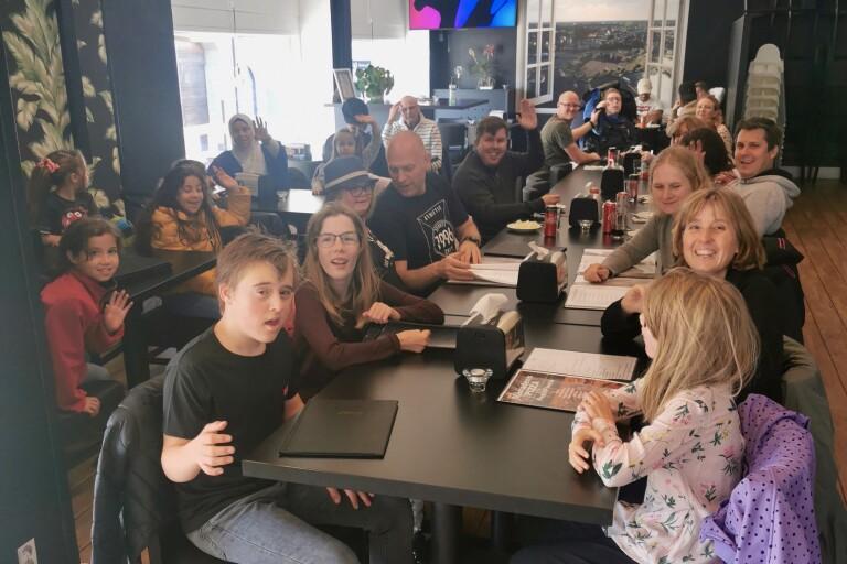 Team Orkidé åkte på utflykt till Oskarshamn