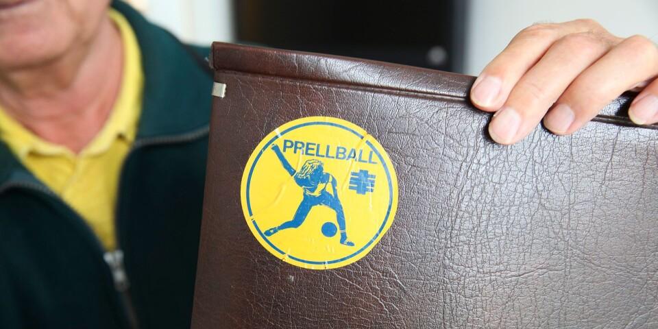 På 80-talet ordnades både SM-tävlingar och utlandsturneringar i prellball. – Vi var många spelare från Finspång, Stockholm, Trollhättan, Karlstad och Simrishamn.