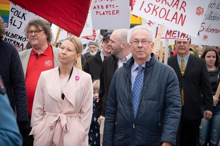 Rudolfssons nya besked: Stannar om partiveteran lämnar