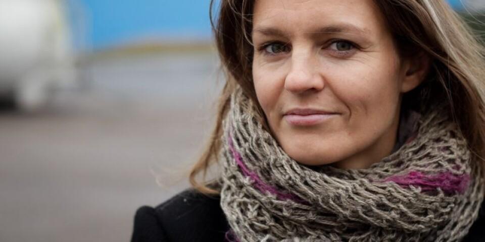 Therese Uddenfeldt, lärare, skribent och författare, bosatt utanför Kivik.