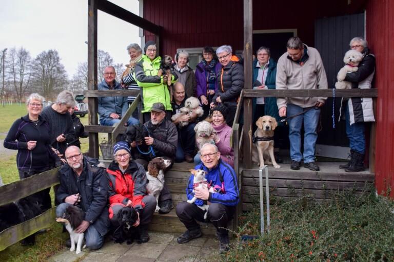 Succé för hundklubbens seniorpromenader