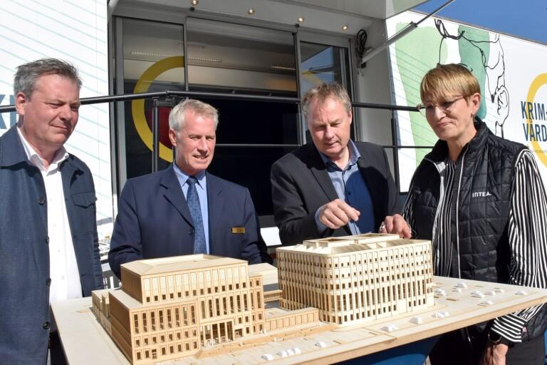 Gigantiskt bygge ger Kristianstad 250 nya jobb