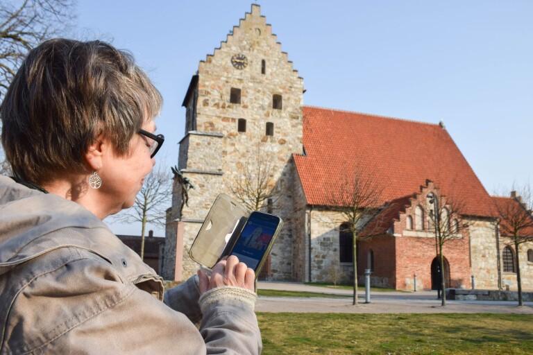 Historisk vandring med app