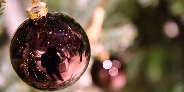 Okänd tjuv stal julkulor