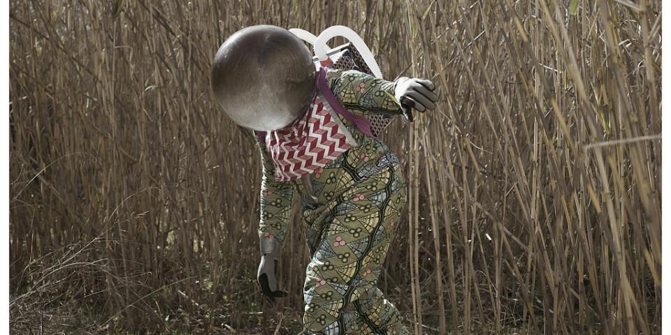 """Cristina de Middels """"Afronauts"""" är ett av flera konstprojekt kring Zambias rymdprogram. Pressbild."""