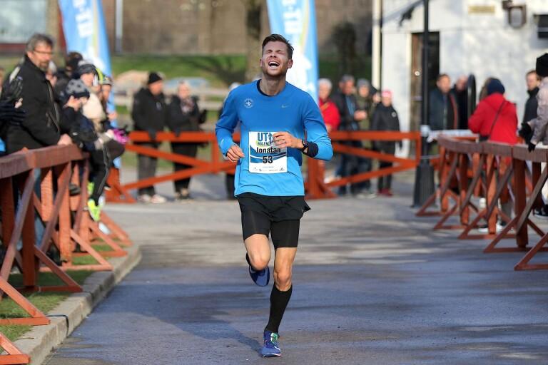 Jonatan Claesson var en besviken tvåa i UT-milen.