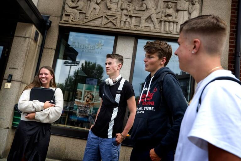 TV: Efter distansvåren – så tycker eleverna om att vara tillbaka på skolan