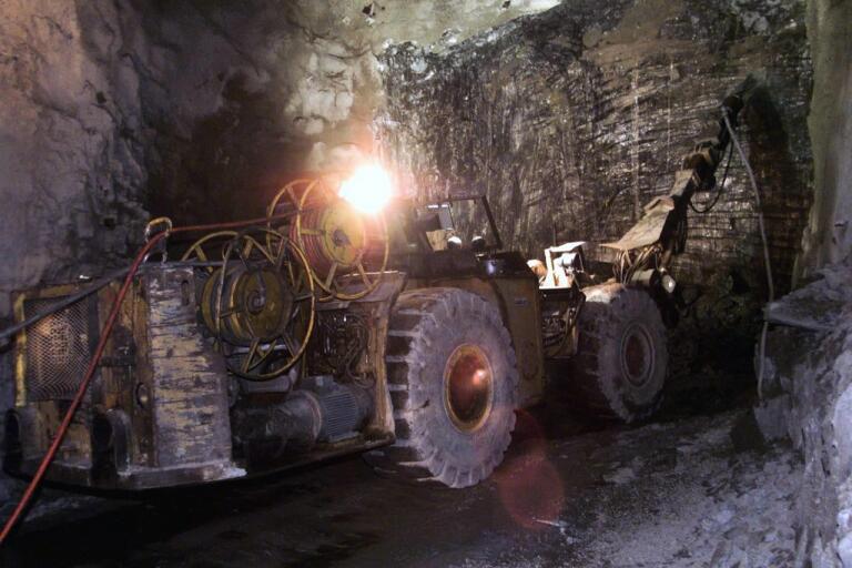 Minskad efterfrågan från gruv- och infrastrukturbolag pressar Epiroc. Arkivbild.