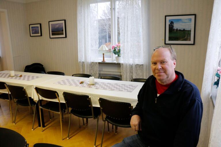 Leif Dahl, ordförande i arbetarekommunen i Ulricehamn.