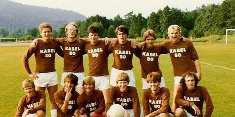 FC Kabel Åttio årgång 1981.