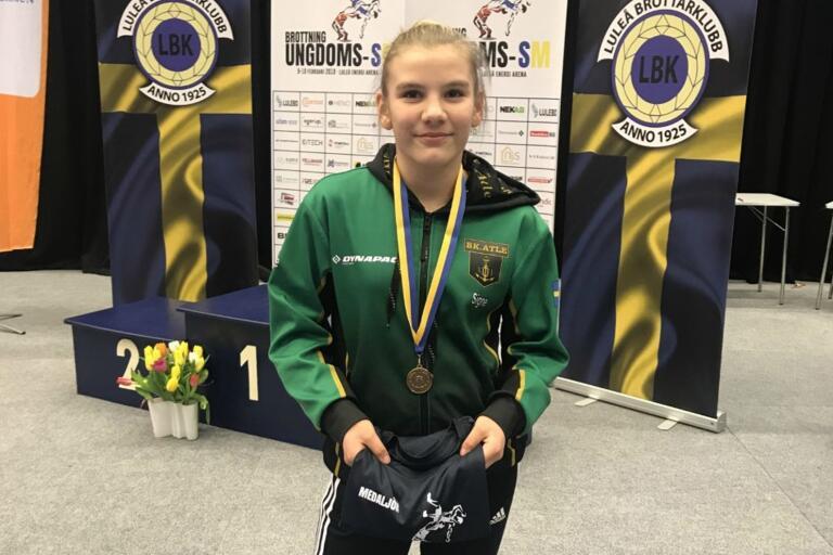 Signe Gustavsson vann i Eslöv – nu siktar hon mot stortävlingar i Göteborg.