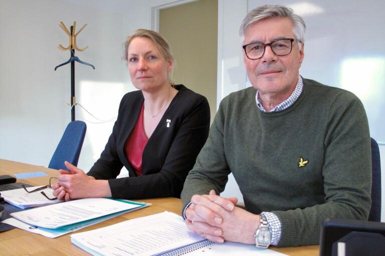 Socialchef Anna Lindquist och socialnämndens ordförande Rolf Lindström (M) arbetar vidare med att införa LOV inom hemtjänsten.
