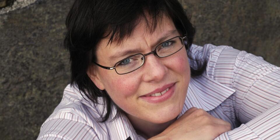 Författaren Lena Andersson kommer till Karlshamn.