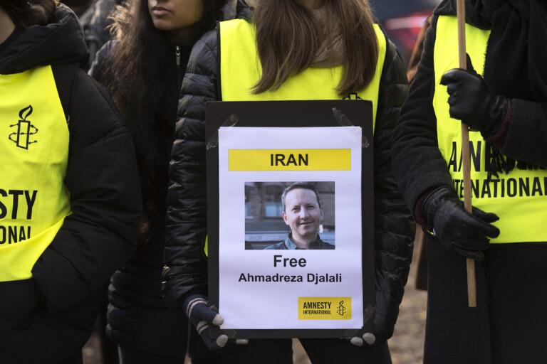 Iran kan pressa EU – med dödsdömd svensk