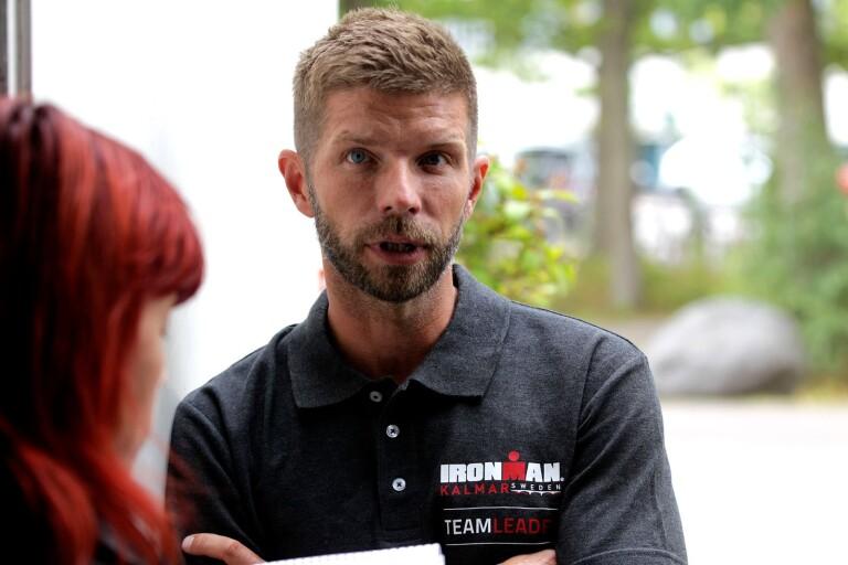 """Tävlingsledaren om publiken på Ironman: """"Folk är galna"""""""